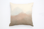 WOKO chiné Grand coussin en laine / big wool crepe cushion
