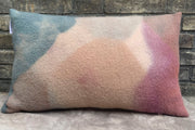 WIMI Grand coussin laine vierge / Big raw wool cushion