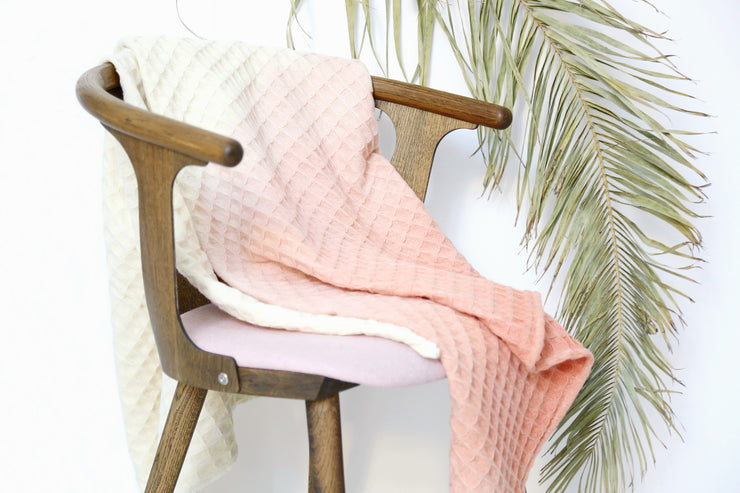 WOLO Plaid maison / WALO Plait enfant cashmere / home throw or kid blanket