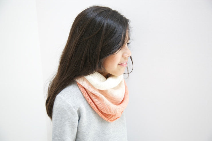 WOOH Col enfant / wool kid snood