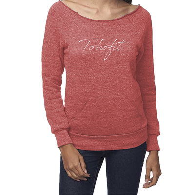 TOHOFIT Triblend Fleece Raglan w/Pouch Pocket - TohoFit