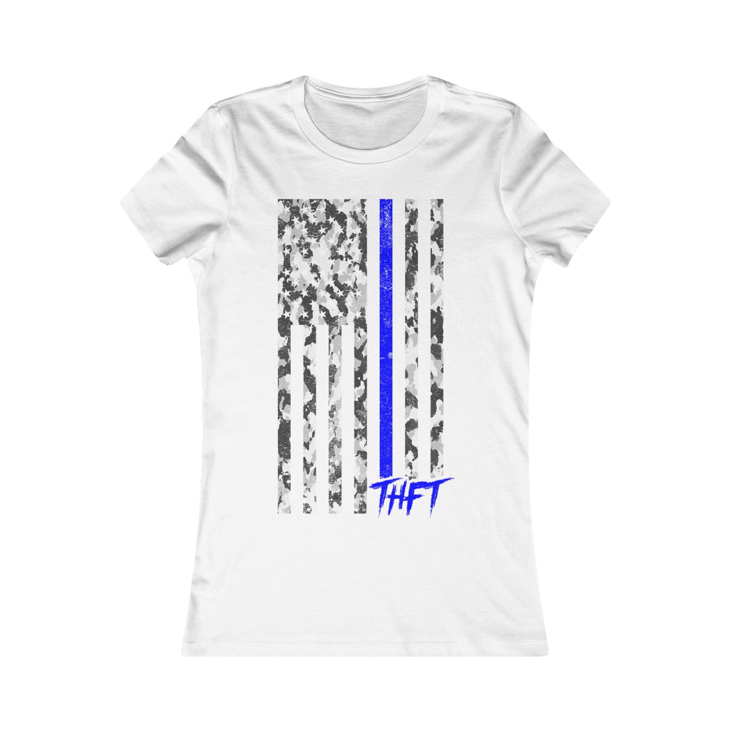 THFT Thin Blue Line Tee - WOMEN - TohoFit