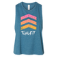 Chevron Crop Tank