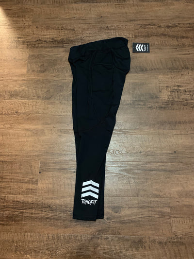 TohoFit V Cut Leggings - Black - TohoFit