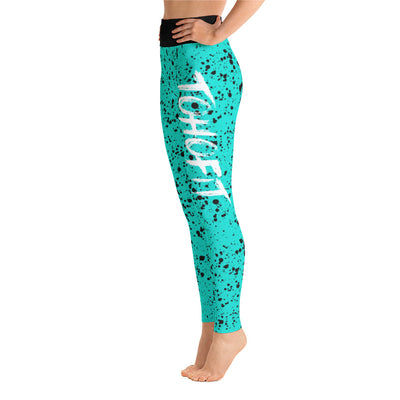 TohoFit Paint Splatter Leggings - TohoFit
