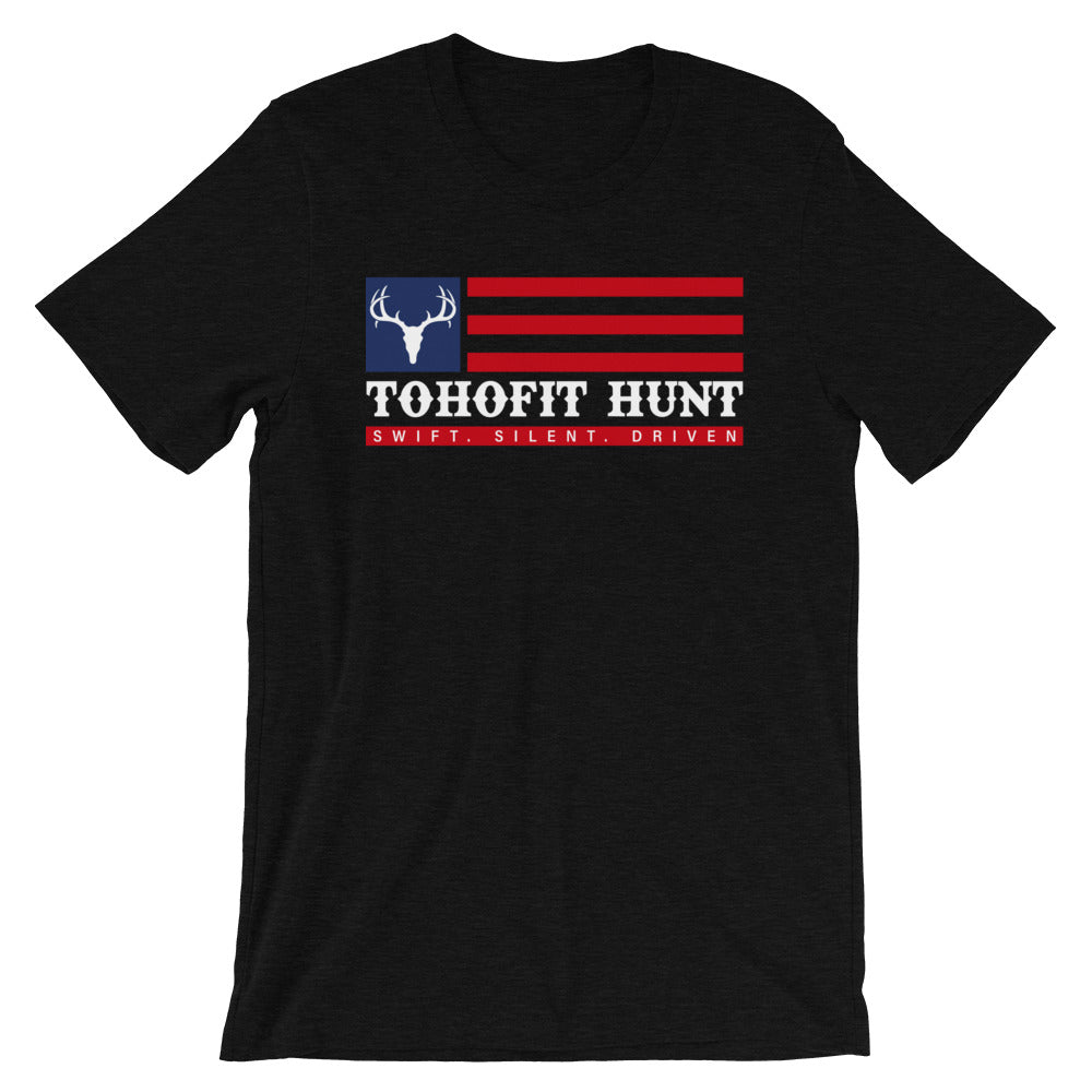TOHOFIT Hunt Freedom Flag Tee - TohoFit