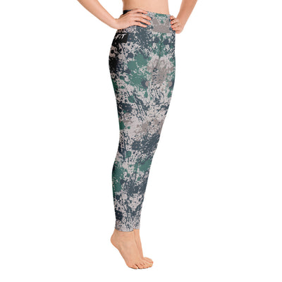 TohoFit Camo Splatter Paint Leggings - TohoFit