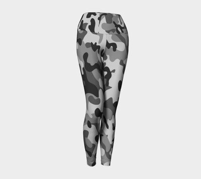 White Camo TohoFit Yoga Leggings - TohoFit