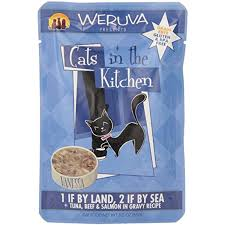One if by land, 2 if by sea Cat Food Pouch by Weruva