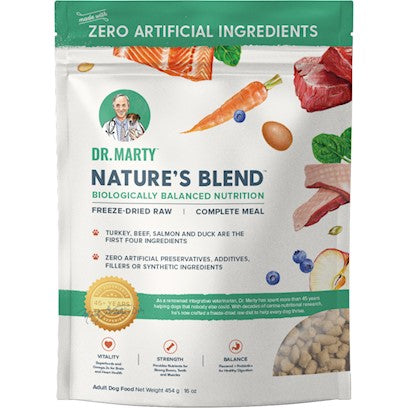 Dr Marty Nature's Blend Freeze Dried
