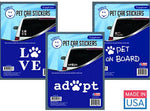 Adopt a Pet - Car Sticker