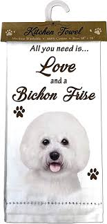 Bichon Frise Kitchen Towel