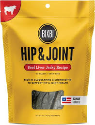 Hip & Joint Liver Jerky Beef Treats for Dogs