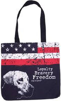 Dog is Good Tote: Freedom Dog