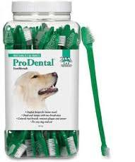 Dog or Cat Dental Toothbrush - Dual End