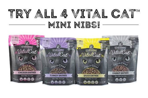 Freeze-Dried Cat Food
