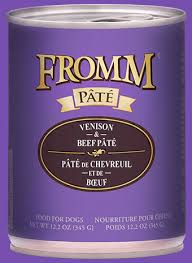Fromm Gold Venison & Lentil Pate Dog Food
