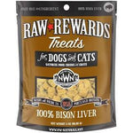 Northwest Naturals Freeze Dried Raw Bison Liver Treats