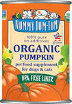 Nummy Tum Tum, Organic Pumpkin Canned
