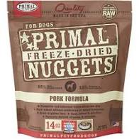 Primal Freeze Dried Pork Dog Food