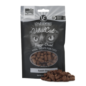 Rabbit Bites Cat Treats by Vital Essentials - Freeze-Dried .9oz