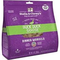 Stella & Chewy's Freeze Dried Duck Duck Goose Morsels