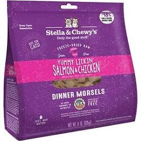Stella & Chewy's Yummy Lickin Salmon & Chicken Morsels