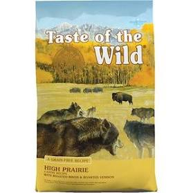 Taste of the Wild High Prairie Canine W/Bison & Venison Dog Food