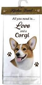 Welsh Corgi Kitchen Towels