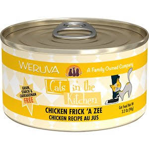 Weruva Cats In The Kitchen  Chicken Frick 'A Zee Canned Wet Cat Food