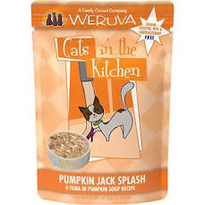 Weruva Cats In The Kitchen Pumpkin Jack Splash - 3 oz pouch