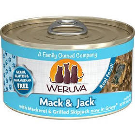 Weruva  Mack and Jack Canned Wet Cat Food
