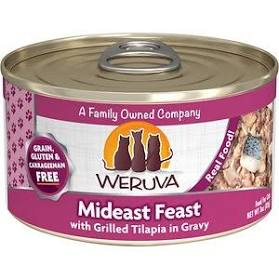 Weruva  Mideast Feast Canned Wet Cat Food
