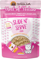 Weruva Slide N' Serve™ Pate Meal of Fortune Chicken Breast Dinner With Chicken Liver Cat Food 2.8 Oz