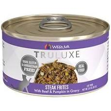 Weruva Truluxe Steak Frites Canned Wet Cat Food