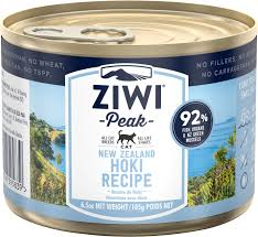 Ziwi Peak Grain-Free Hoki Canned Cat Food Recipe