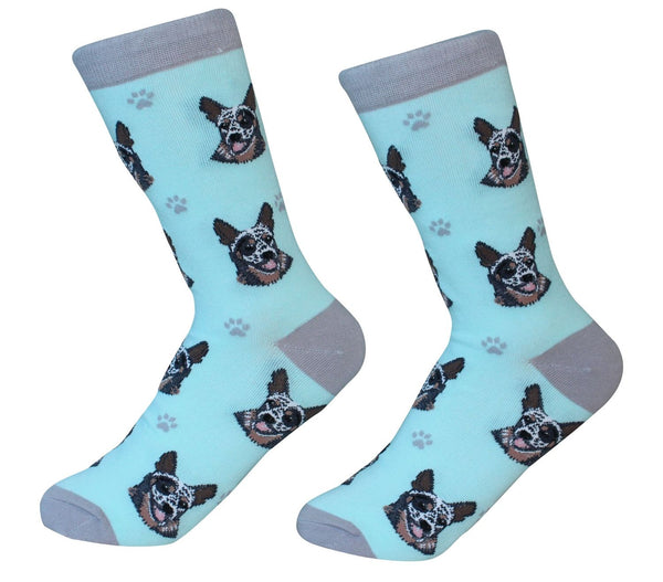 Australian Cattle Dog Socks - Unisex