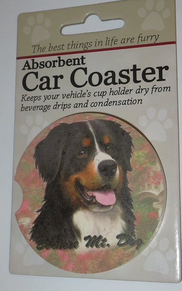 Bernese Mountain Dog Car Coaster