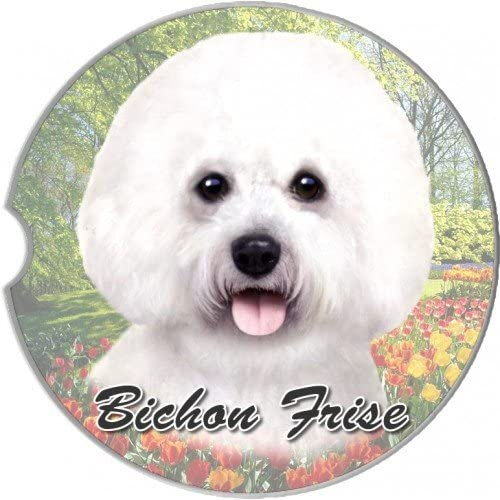 Bichon Frise Car Coaster