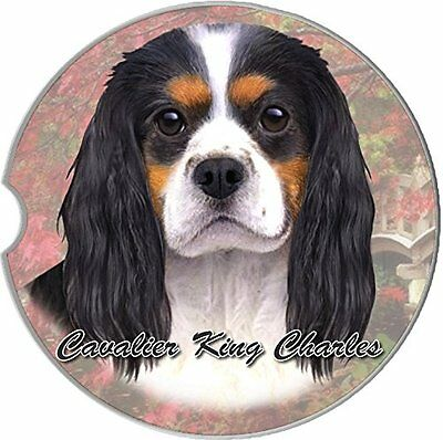 Cavalier King Charles Car Coaster