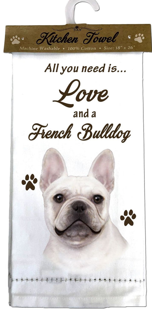 French Bulldog Kitchen Towel