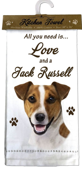 Jack Russell Kitchen Towel
