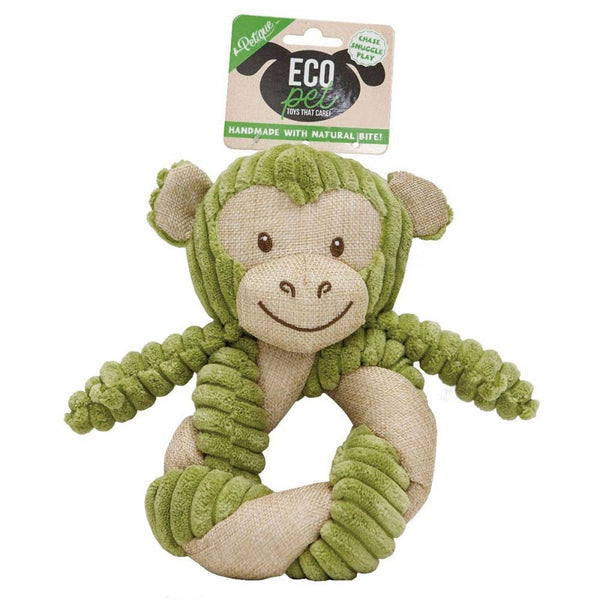 Monkey Twist Hemp Pet Toy