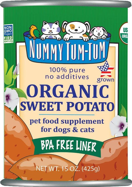 Organic Sweet Potato Canned