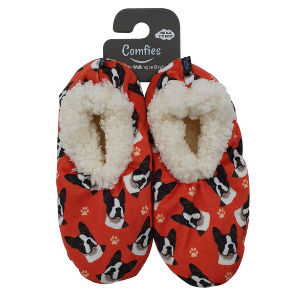 Boston Terrier Slippers - Comfies