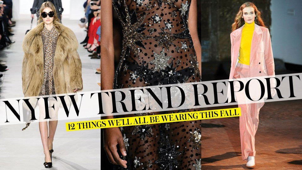 The 12 Best Fall Trends from New York Fashion Week