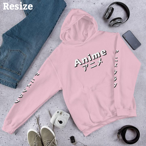 RESIZE ONLY Anime Club | Japanese Streetwear Hoodie