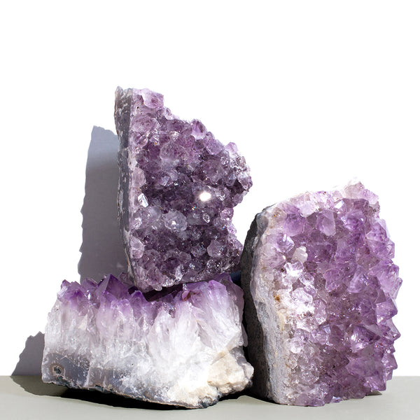 Raw Amethyst Crystals
