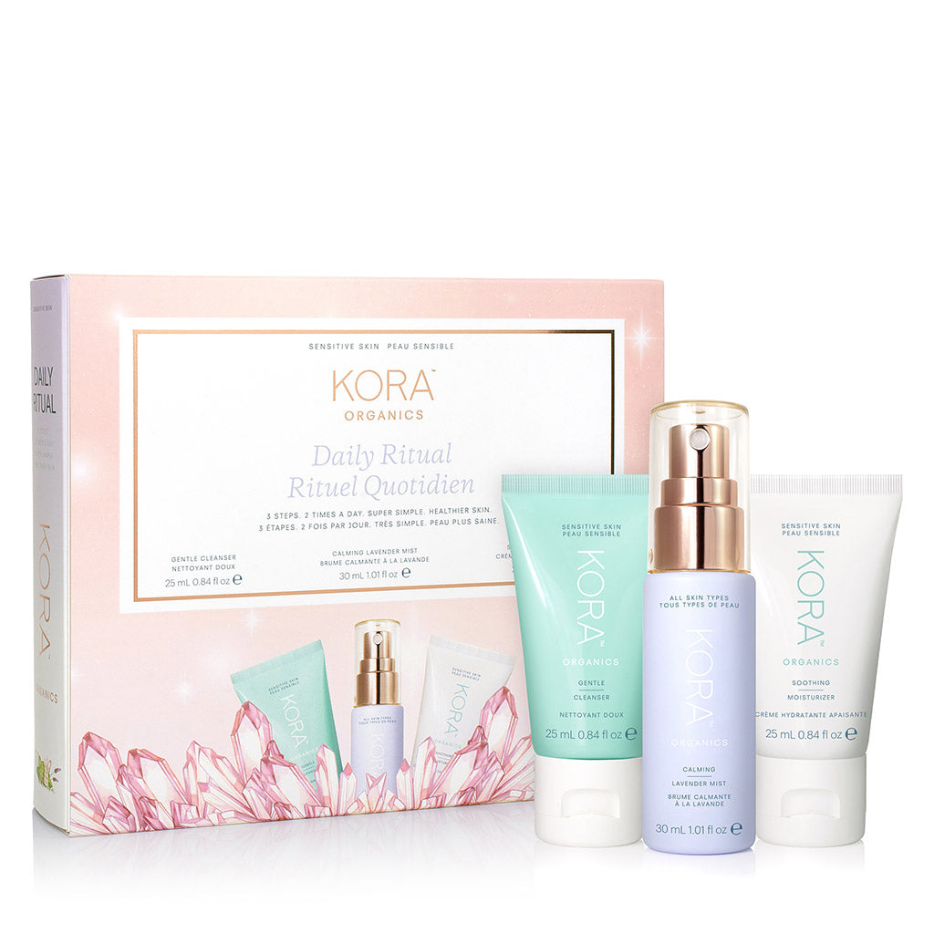 Daily Ritual Kit - Sensitive Skin | Holiday