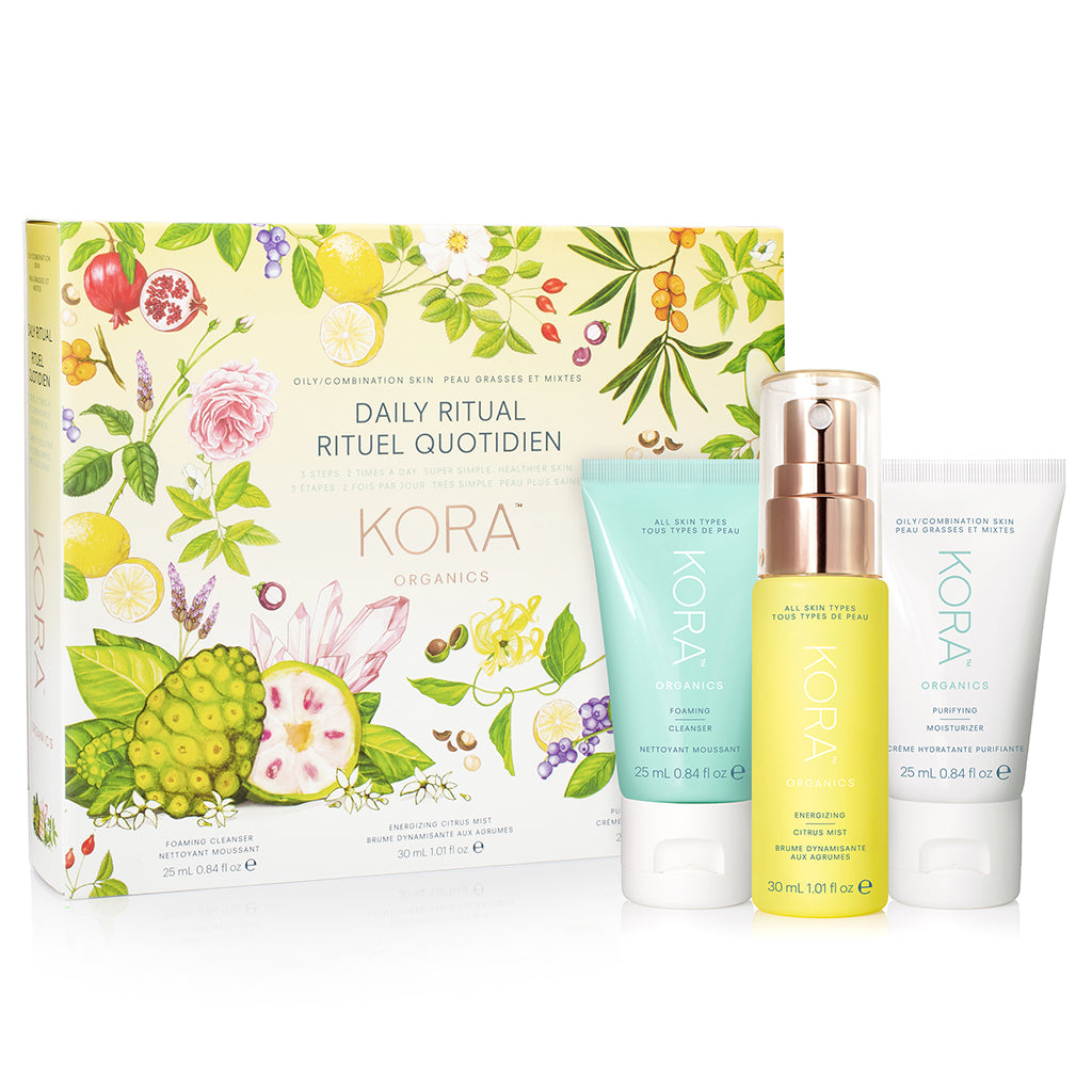 Daily Ritual Kit - Oily/Combination Skin (Gift Set)